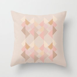 Marshmallow dance Throw Pillow