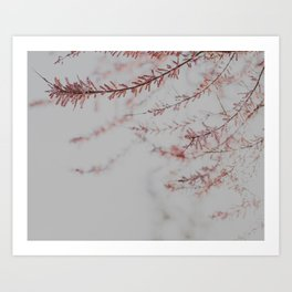 Dusty Pink Nursery Print Art Print