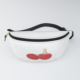 Ping Pong Table Tennis Paddles Fanny Pack