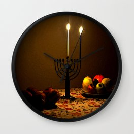 First Candle Wall Clock