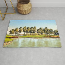 Sawgrass TPC Golf Course 17th Hole Rug