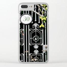 Door 30 Clear iPhone Case