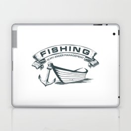 Fishing is my Management Laptop & iPad Skin