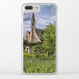 The Church at Clifton Hampden Clear iPhone Case