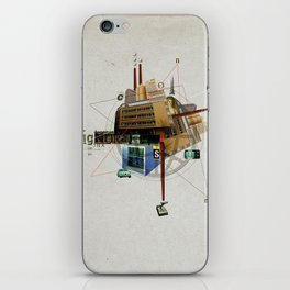 Collage City Mix 1 iPhone Skin
