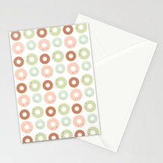 Donuts for breakfast! Stationery Cards