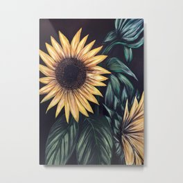 Sunflower Life Metal Print