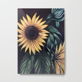 Sunflower Life Metal Print