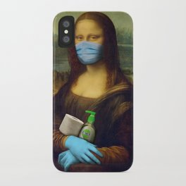 2020 Mona Lisa iPhone Case