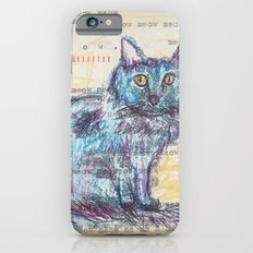 Here kitty, kitty iPhone 6s Slim Case