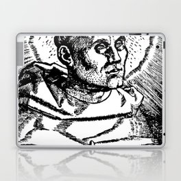 Portrait of Martin Luther Laptop & iPad Skin