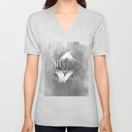 SILVER for the Demon Towers. Shadowhunter Children's Rhyme. Unisex V-Neck