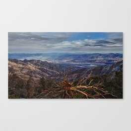Death Valley Vista Canvas Print
