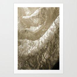Lacey Art Print