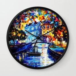 Tardis Way Wall Clock