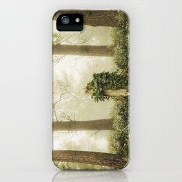 Magic stump iPhone Case