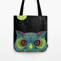 The Mystique Owl Tote Bag