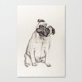 Pugg Canvas Print