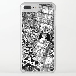 I am king Clear iPhone Case