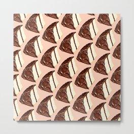 Cake Pattern Metal Print