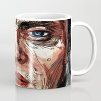christopher walken Mugs featuring Walken by Dnzsea