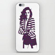Miranda Kerr Stripes iPhone & iPod Skin