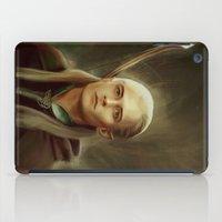 legolas iPad Cases featuring Legolas by taryndraws2