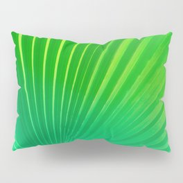 Palm Tree Leaf Pillow Sham