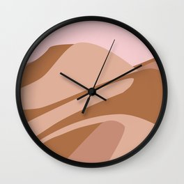 Dusk Desert Sands Wall Clock