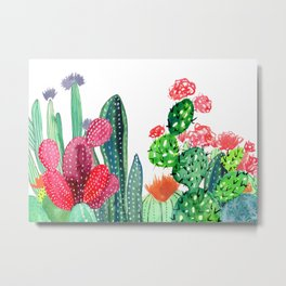 A Prickly Bunch 4 Metal Print
