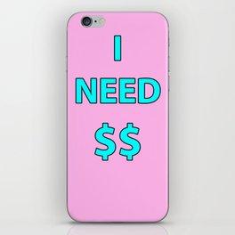 need iPhone Skin
