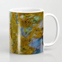 tie dye Mugs featuring Tie Dye by Ian Bevington