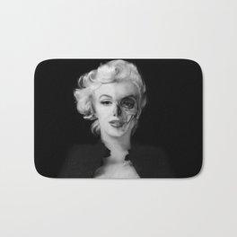 Dead Celebrities Series Half Skull Bath Mat