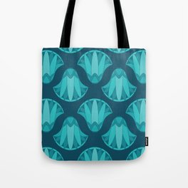 Lotus Pattern Tote Bag