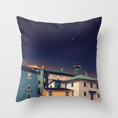 Castles at Night Throw Pillow