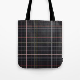 A very glommy plaid Tote Bag
