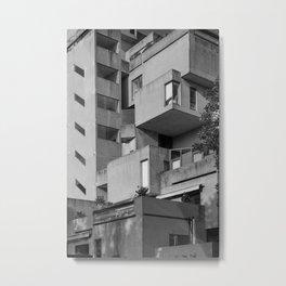Habitat 67 06 - Mid Century Architecture Metal Print