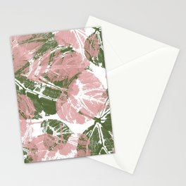 Leaves IV Stationery Cards