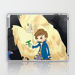 Fantastic beasts and where to find them. Laptop & iPad Skin