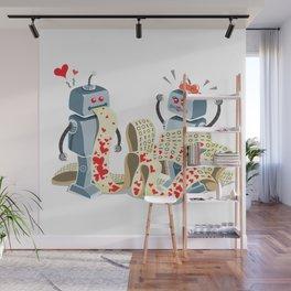 Binary Love Wall Mural