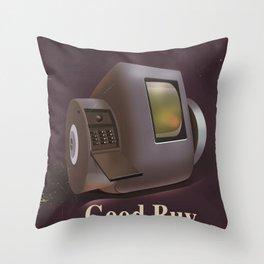 Vintage Videofone ad ( Total Recall 1990 fan art) Throw Pillow