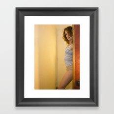 A bit of Sexy(ness) Framed Art Print