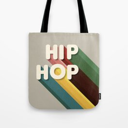 HIP HOP - typography Tote Bag