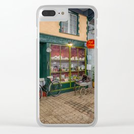 Old Town Street Clear iPhone Case