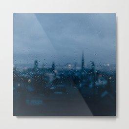 Rainy Rouen Metal Print
