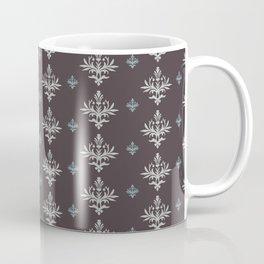 Victorian Brown Pattern Coffee Mug
