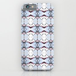 red Malus Radiant crab apple blossoms #7 pattern iPhone Case