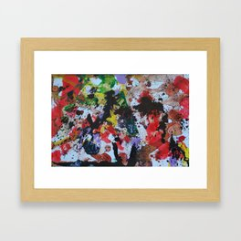 GLTCH! Framed Art Print