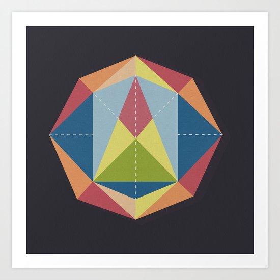 Prisme 1 Art Print
