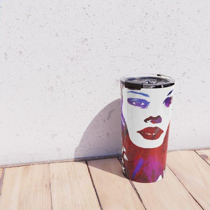 Pop Girl Travel Mug